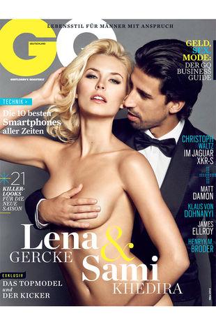사진=GQ 독일판 2012년 2월호 표지