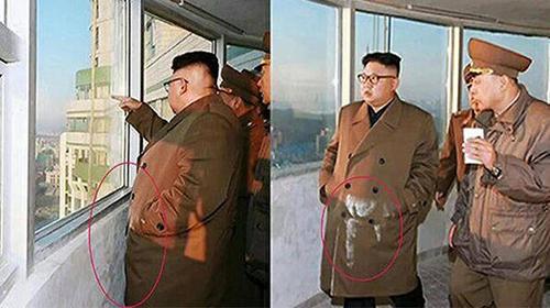 北 김정은 코트에 일어난 대참사