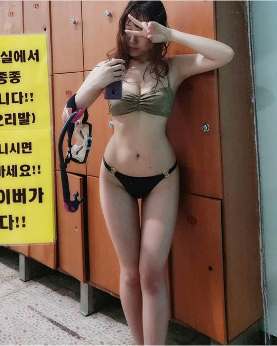 모델 정유정의 섹시미 돋는 비키니