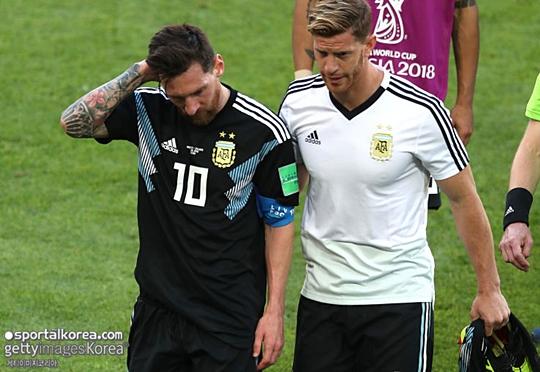"""[월드컵 썰] 라키티치 """"아르헨에 메시만큼 자랑스러운 인물도 없..."""