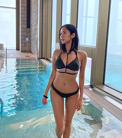김주희, 모두가 놀란 환상 몸매