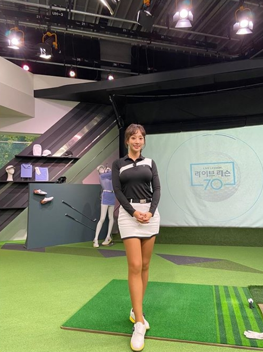'스포츠 여신' 박신영 아나, 혼자만 돋보이는 볼륨감