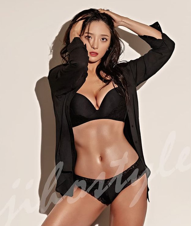 프로골퍼 이혜정, 섹시+건강미 바디프로필 공개
